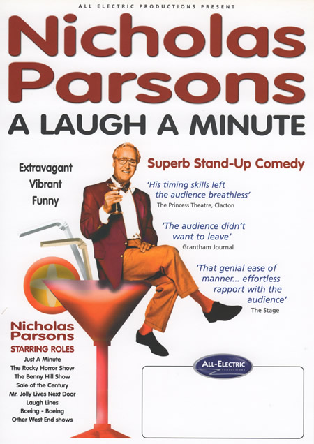 Nicholas Parsons from Sale of the Century and Just A Minute