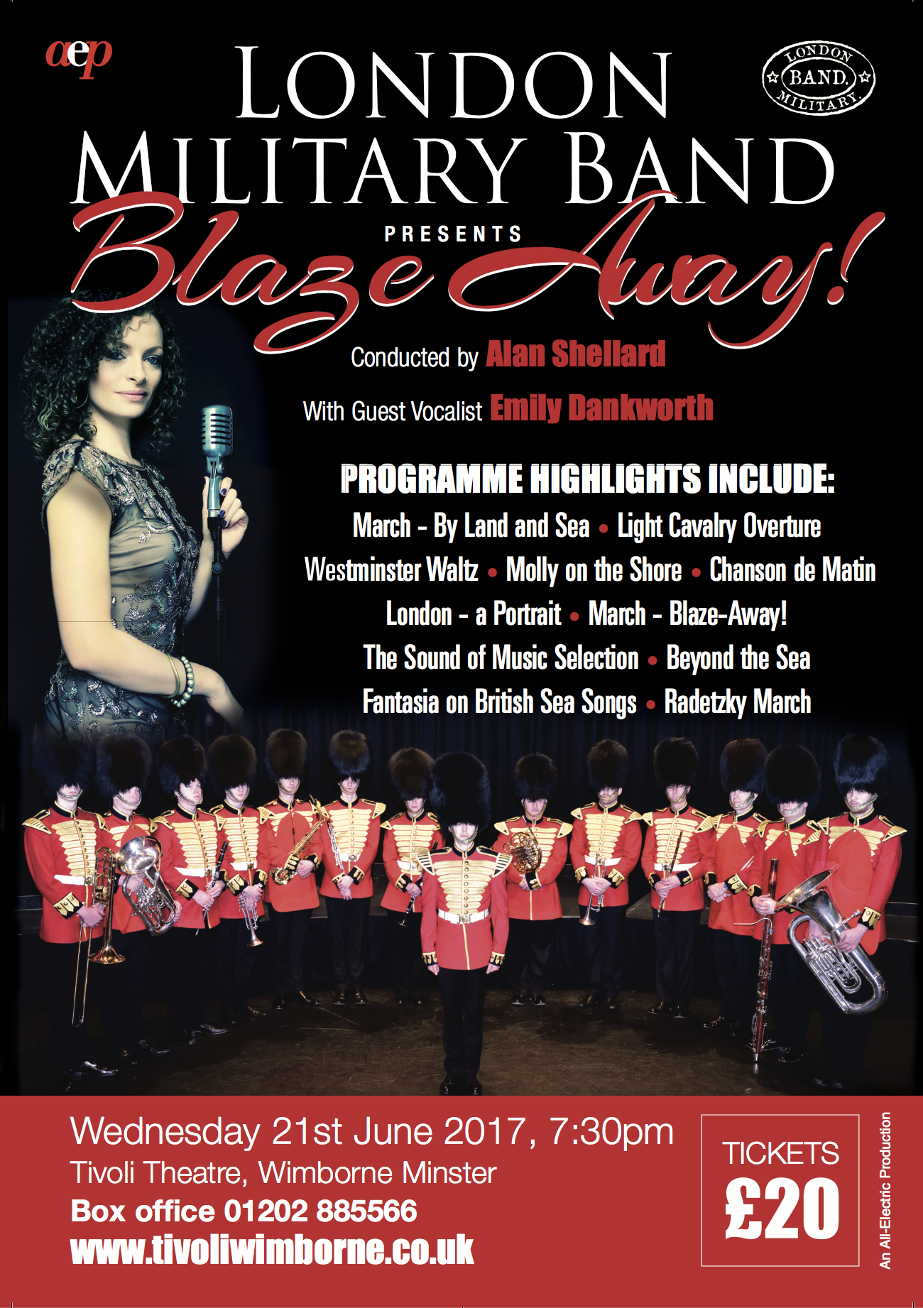 London Military Band poster