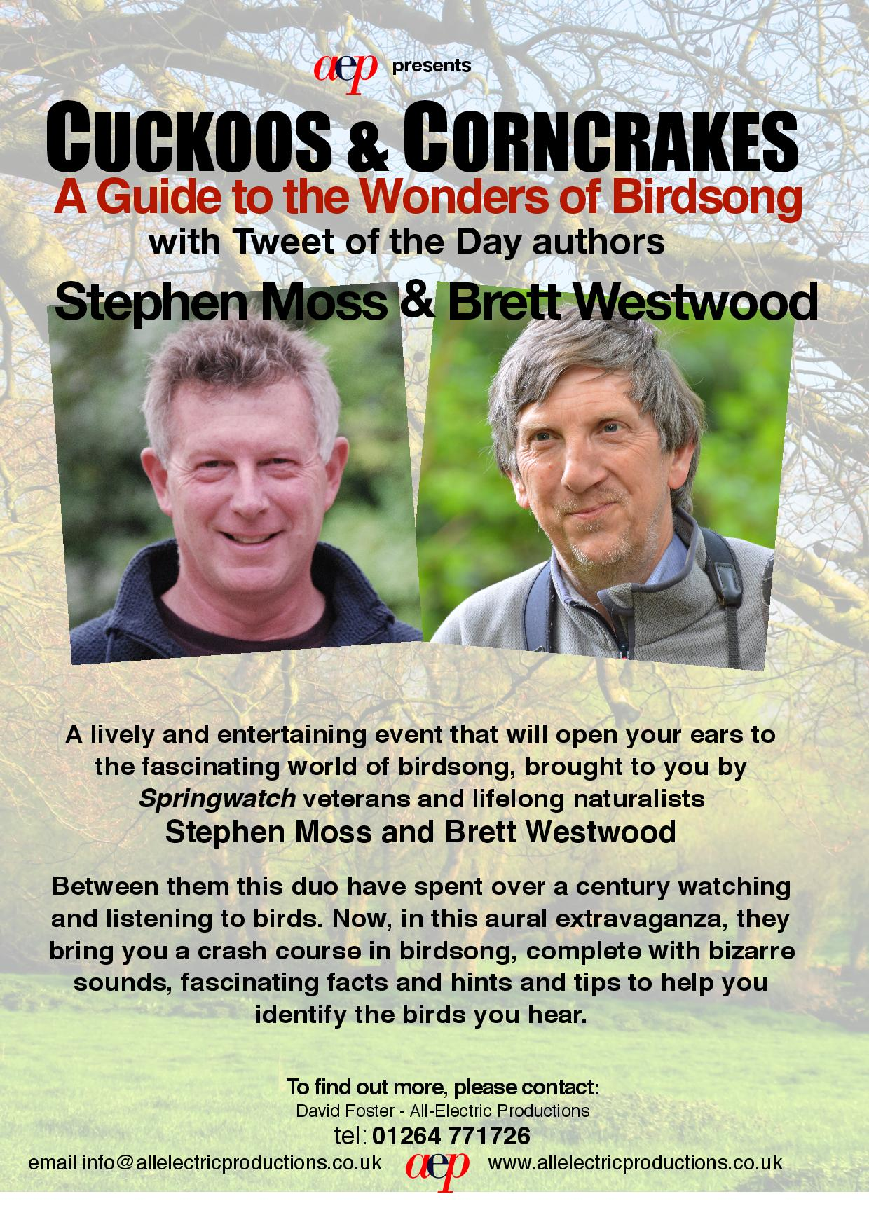 Brett Westwood and Stephen Moss