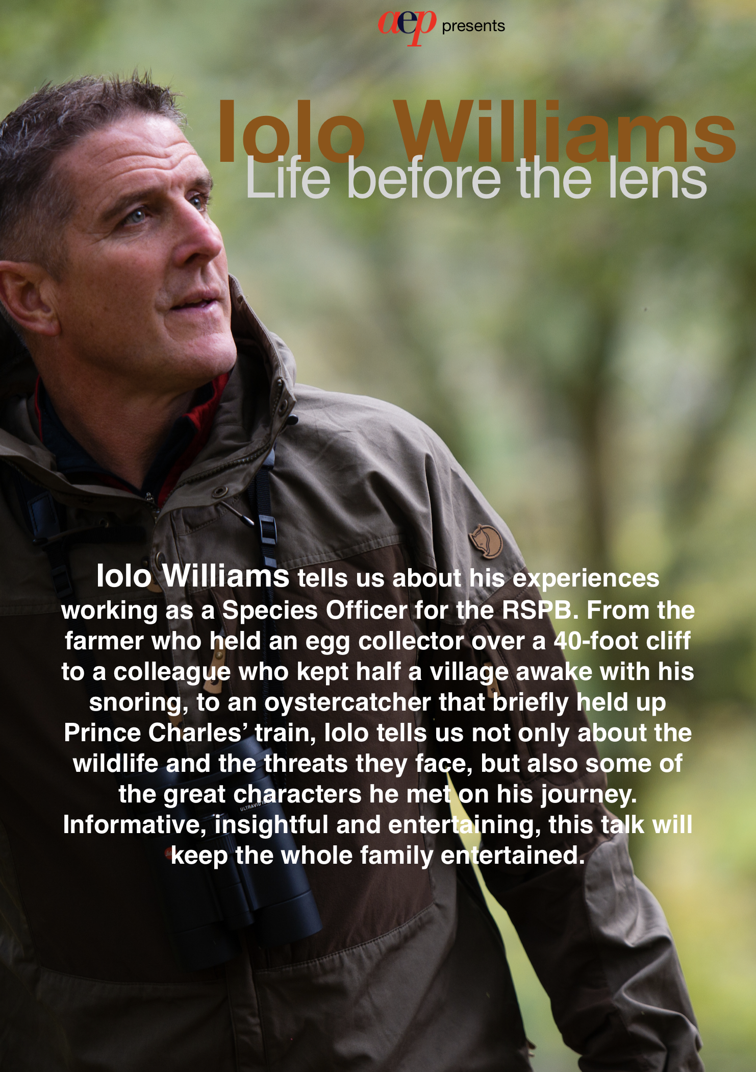 Ilo Williams - Life Before the Lens