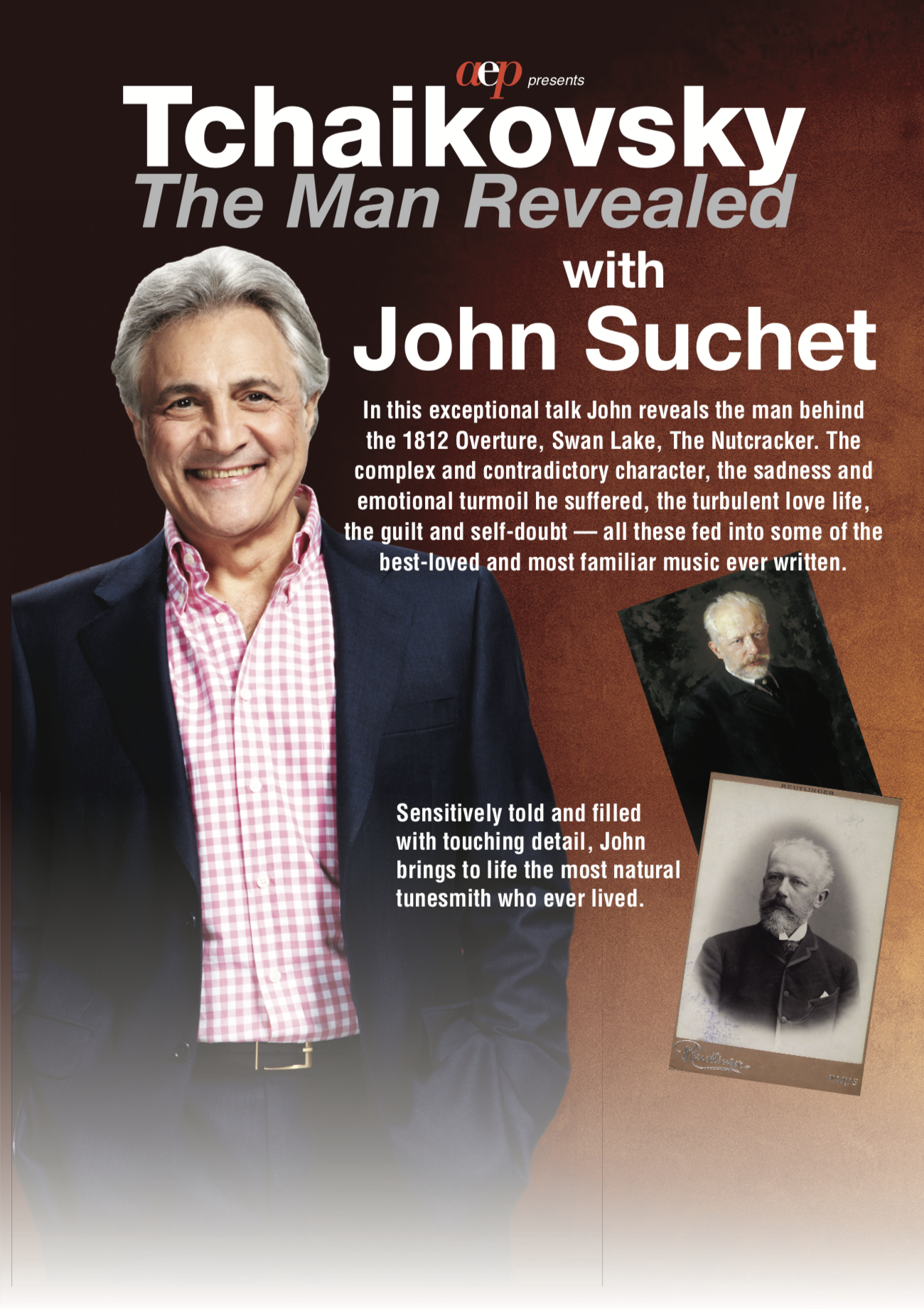 John Suchet. Tchaikovsky The Man Revealed