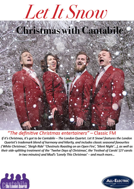 Christmas Production with Cantabile - The London Quartet